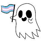 Trans Pride Ghost by RessQ