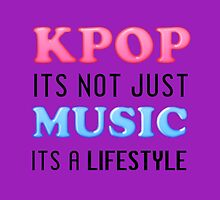 KPOP IS A LIFESTYLE - PURPLE by Cynthia Adinig