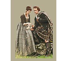 Outlander - Jamie x Claire Photographic Print