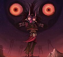 Majora's Mask and the Moon by redhotline