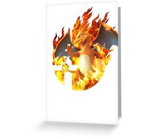 Smash Charizard Greeting Card