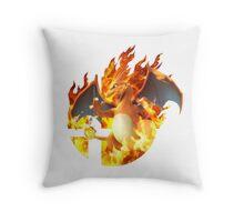 Smash Charizard Throw Pillow