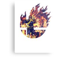 Smash Captain Falcon (Brawl) Metal Print