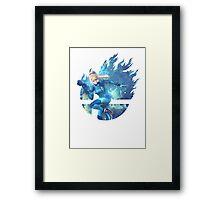 Smash Zero Suit Samus Framed Print