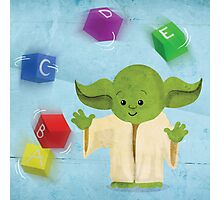 Star Wars babies - inspired by Yoda Photographic Print