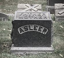 Asleep Tombstone, Greenwood Cemetery, Brooklyn by Lagoldberg28