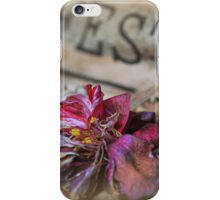 When the festival has gone iPhone Case/Skin