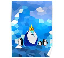 Ice King & his brood. Poster