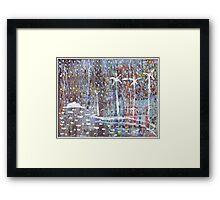 Beare Park Palms Framed Print