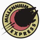 Millennium Express (sticker) by Olipop