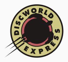 Discworld Express (sticker) by Olipop