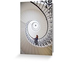 A day out in Greenwich - Tulip Stairs Greeting Card
