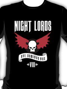 Night Lords VIII - Warhammer  T-Shirt