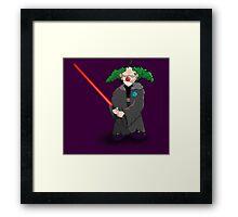 darth clown Framed Print