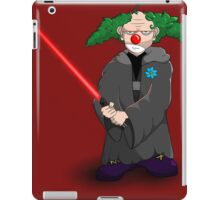 darth clown iPad Case/Skin