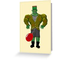 Franken-Muscle Greeting Card