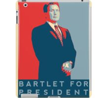 The West Wing: Bartlet for President T-Shirt iPad Case/Skin