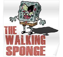 The Walking Spongebob - Walking dead Poster