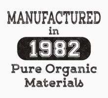 Manufactured in 1982 by JohnLucke