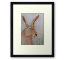 'Mad as a March Hare' Framed Print