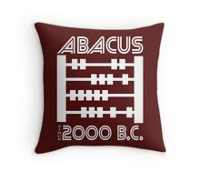 The Abacus  Throw Pillow