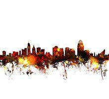 Cincinnati Ohio Skyline Photographic Print