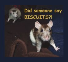 did someone say biscuits? Kids Clothes