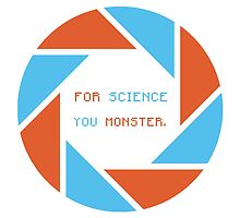 For Science, You Monster! by KNUX-DESIGNS