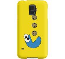 Cookie Monster Pacman Samsung Galaxy Case/Skin