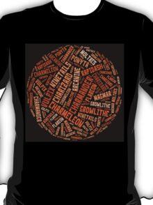 Fire types. T-Shirt