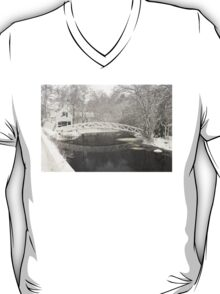 Snow Storm In Somesville Maine Photograph T-Shirt