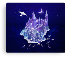 Hogwarts series (year 1: the Philosopher's Stone) Canvas Print