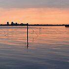 Sunset Lake Veere by Adri  Padmos