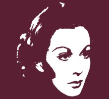 Vivien Leigh Is Scarlet by Museenglish