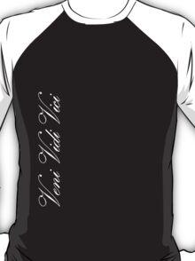 Zyzz Veni Vidi Vici White T-Shirt