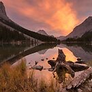 Elbow Lake, Canada by Philippe Widling