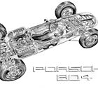 Porsche 804 by JohnnyBoy333