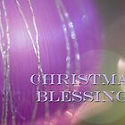 Christmas Blessings bauble design by LindaCooke