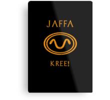 Jaffa warrior symbol snake Metal Print