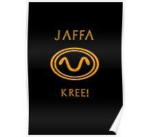 Jaffa warrior symbol snake Poster