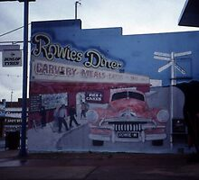 Rowies Diner, West Wyalong, NSW, Australia 1999 by muz2142