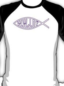 WWJD? Jesus Christ Son of God Lord T-Shirt