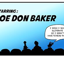 Mystery Science Theater 3000 and Joe Don Baker. A love/hate relationship by BigfootAlley