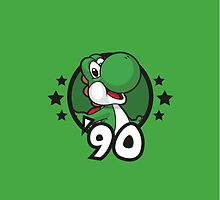 Video Game Heroes - Yoshi (1990) by Jarmez