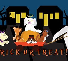 Trick or treat Pets by thekohakudragon