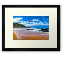 Lumaha'i Beach, Kauai Framed Print