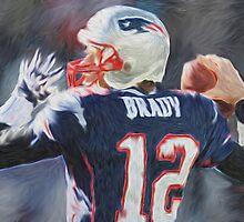 Tom Brady - NFL - Patriots by kyddco