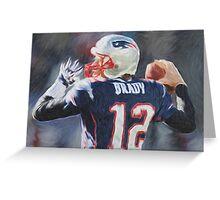 Tom Brady - NFL - Patriots Greeting Card