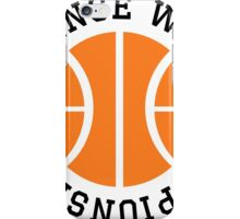 Defense Wins Championships iPhone Case/Skin