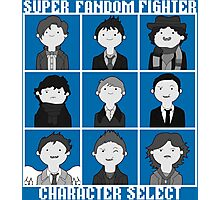 Super Fandom Fighter!  Photographic Print